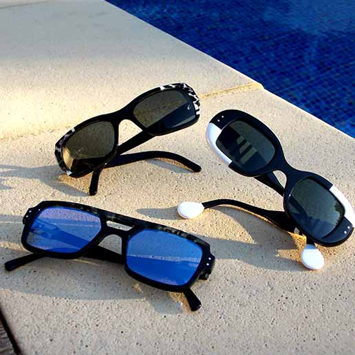 Optique Pacheco créations originales lunettes soleil été piscine - Optique Pacheco